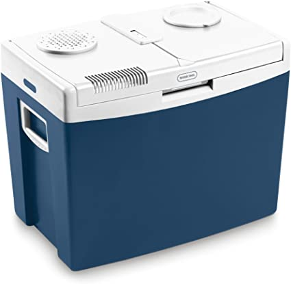 Mobicool MT08 - Nevera eléctrica portátil (8 L), Unisex Adulto, Nevera portátil, Azul, MT35