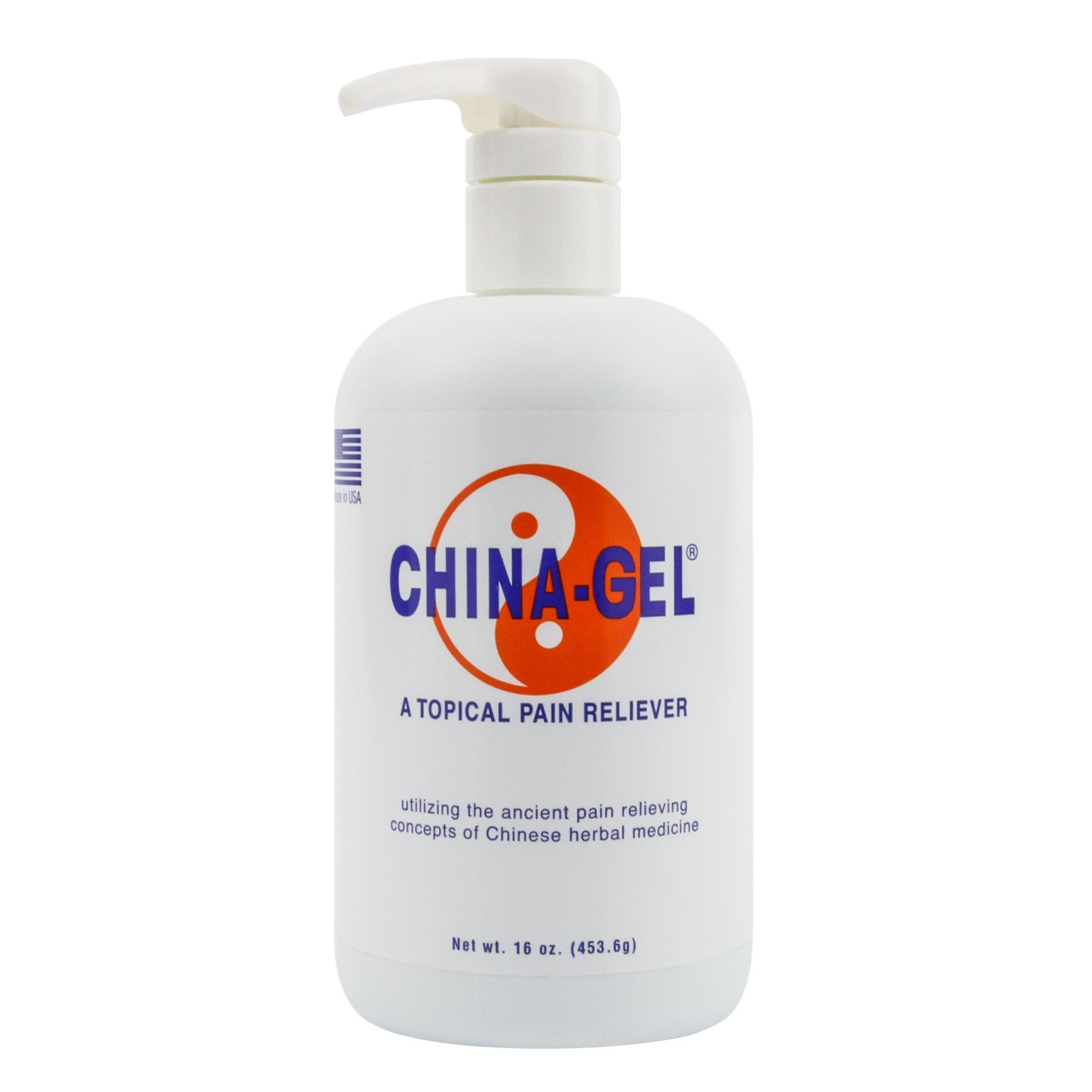 China-Gel - Topical Pain Reliever, 16 oz.
