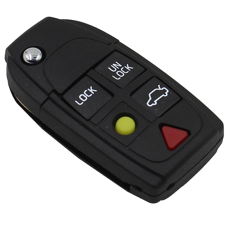 amazon com heart horse keyless remote key case 5 button key fob