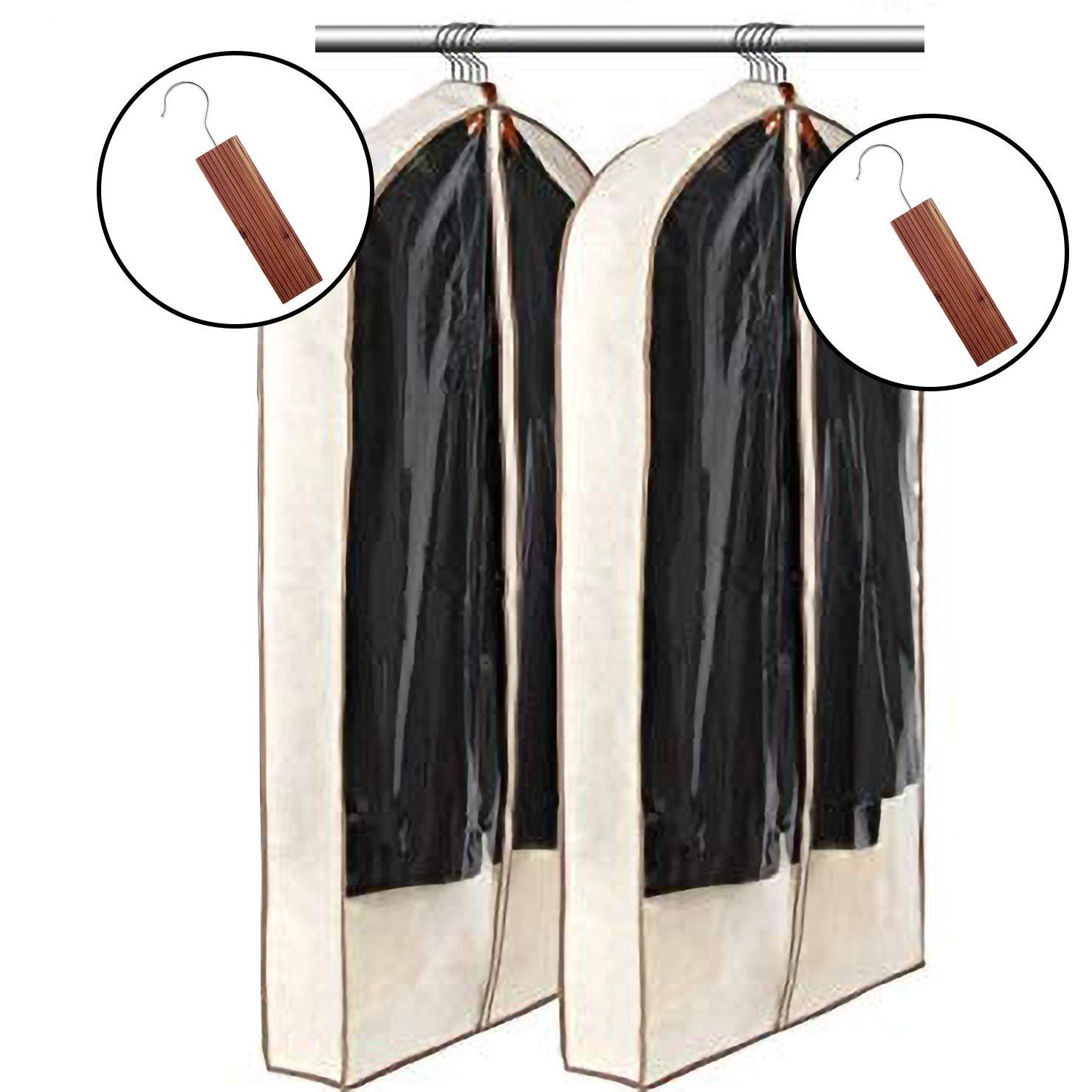 3rd Bay Premium Garment Bag & Cedar Set