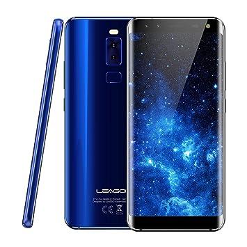 Smartphone Libre LEAGOO S8 4G Android 7.0 5.72 Pulgadas Helio P25 Octa Core 2.6GHz 3GB
