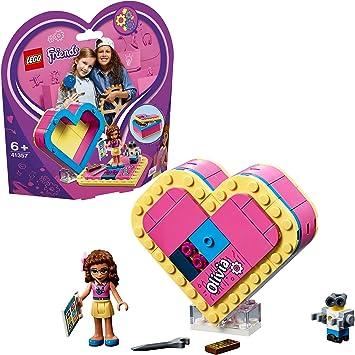 LEGO Friends - Caja Corazón de Olivia, divertido set de construcción coleccionable para guardar tus cosas (41357): LEGO: Amazon.es: Juguetes y juegos