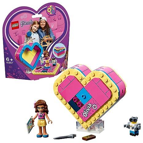 lego friends cuore  LEGO Friends - Scatola del cuore di Olivia, 41357: : Giochi ...