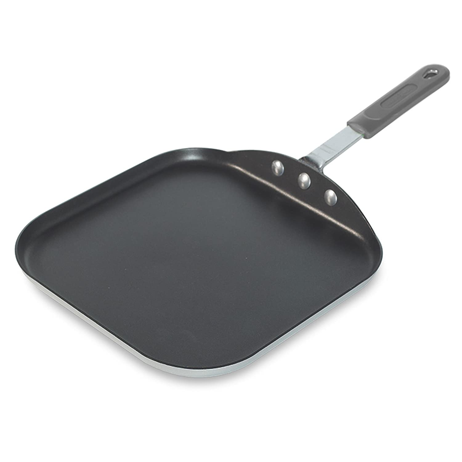 Nordic Ware Restaurant Cookware Square Griddle, 11.5 Inch