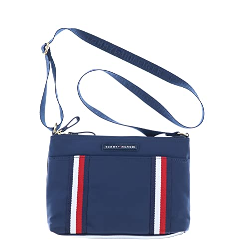 66288796cdb Tommy Hilfiger East West Crossbody Purse in Navy: Amazon.co.uk: Shoes & Bags