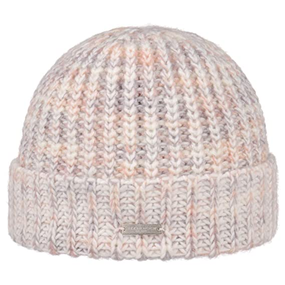 bdf49a8671c Seeberger Mejata Knit Hat with Cuff Beanie Winter (One Size - Cream White)