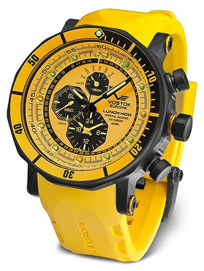 Vostok Europe Reloj de caballero YM86-620C504: Vostok Europe: Amazon.es: Relojes
