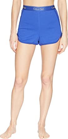 Calvin Klein Underwear Women s Modern Cotton Loungewear Sleep Shorts Pure  Cerulean Large b46b5c9ef