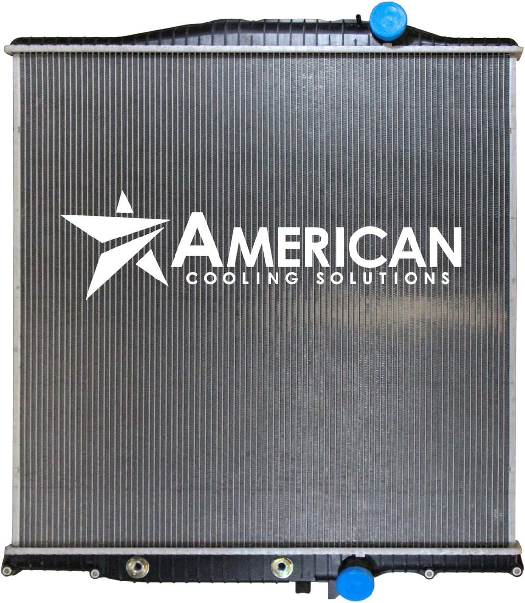 New Replacement Radiator w/o Frame for Volvo VN VNL & Mack CXN Trucks with Transmission Cooler