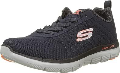 Mens Skechers Flex Advantage 2.0 The Happs 52185 Lace up Sports Trainers 11 Black