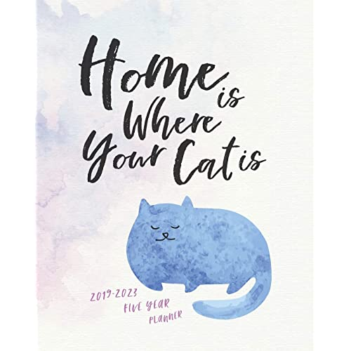 Daily, Weekly and ... Personal Organisers, and Appointment Books UK Edition Schedule Planner and Appointment Diary 2019-2023 Five Year Diary; Cat Lady: The Cat Lover/'s Month to View Calendar