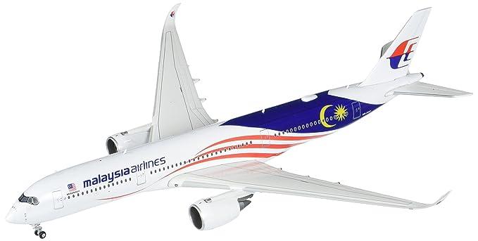 GeminiJets Malaysia Airlines A350-900 9M-Mac Negaraku Livery 1:400 Scale Die Cast Airplane Model