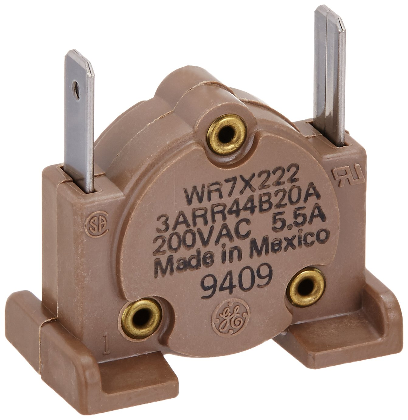 General Electric WR7X222 Refrigerator Start Relay