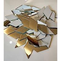 RUIXUAN - Espejo de mosaico con forma