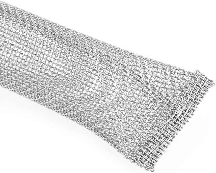 304 Grade Stainless Steel Mesh Filter 12inch//6inch Beer Brew Hop Filter Strainer Tool for Kettle or Mash Tun 1//2 12inch