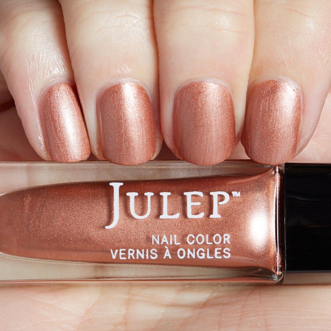 Amazon.com: Julep Color Treat Matte Metallics Nail Polish, Rashida ...