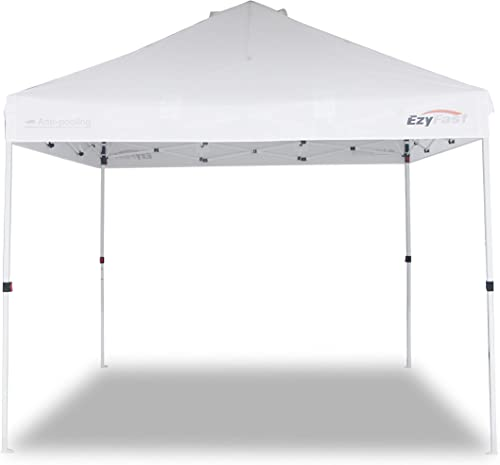 EzyFast Antipool Pro Canopy for Rain or Sunshine, Heavy Duty Premium Portable 10 x10 Pop Up Canopy Tent, Patented Instant Shade Shelter