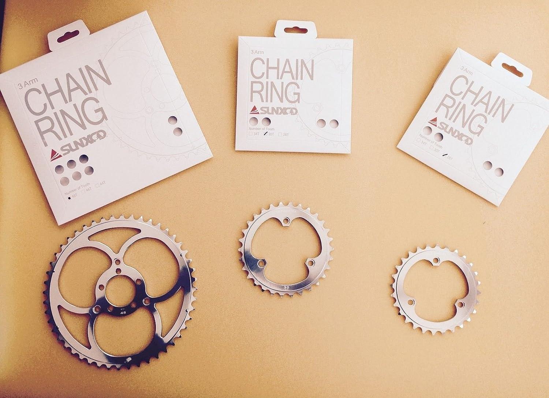 SunXCD Clover Leaf Chain rings 50.4mmBCD