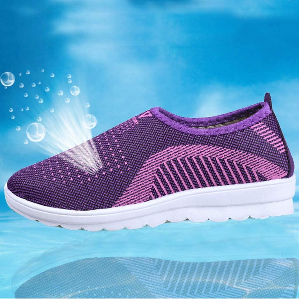 Womens Fashion Sneaker Miuye yuren Mens Casual Lightweight Mesh Walking Shoes Breathable Couple Everyday Shoes