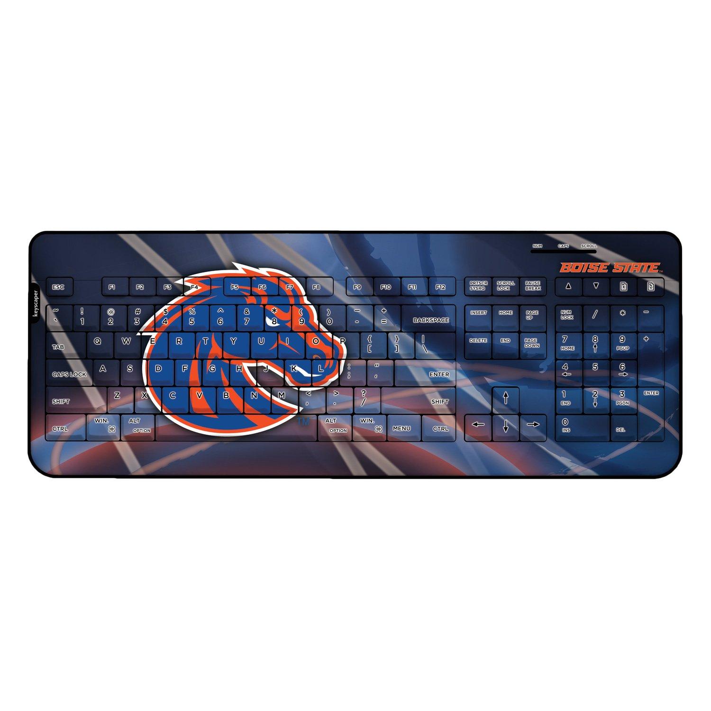 Boise State University Wired USB Keyboard NCAA by Keyscaper