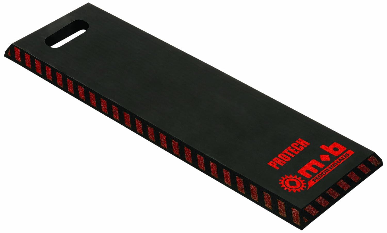Peddinghaus 6423000001 Protech Tapis protection genoux, Noir/rouge