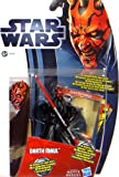 "'Darth Maul Sith Lord con ""slashing Lightsaber Movie Heroes – Star Wars de Hasbro"