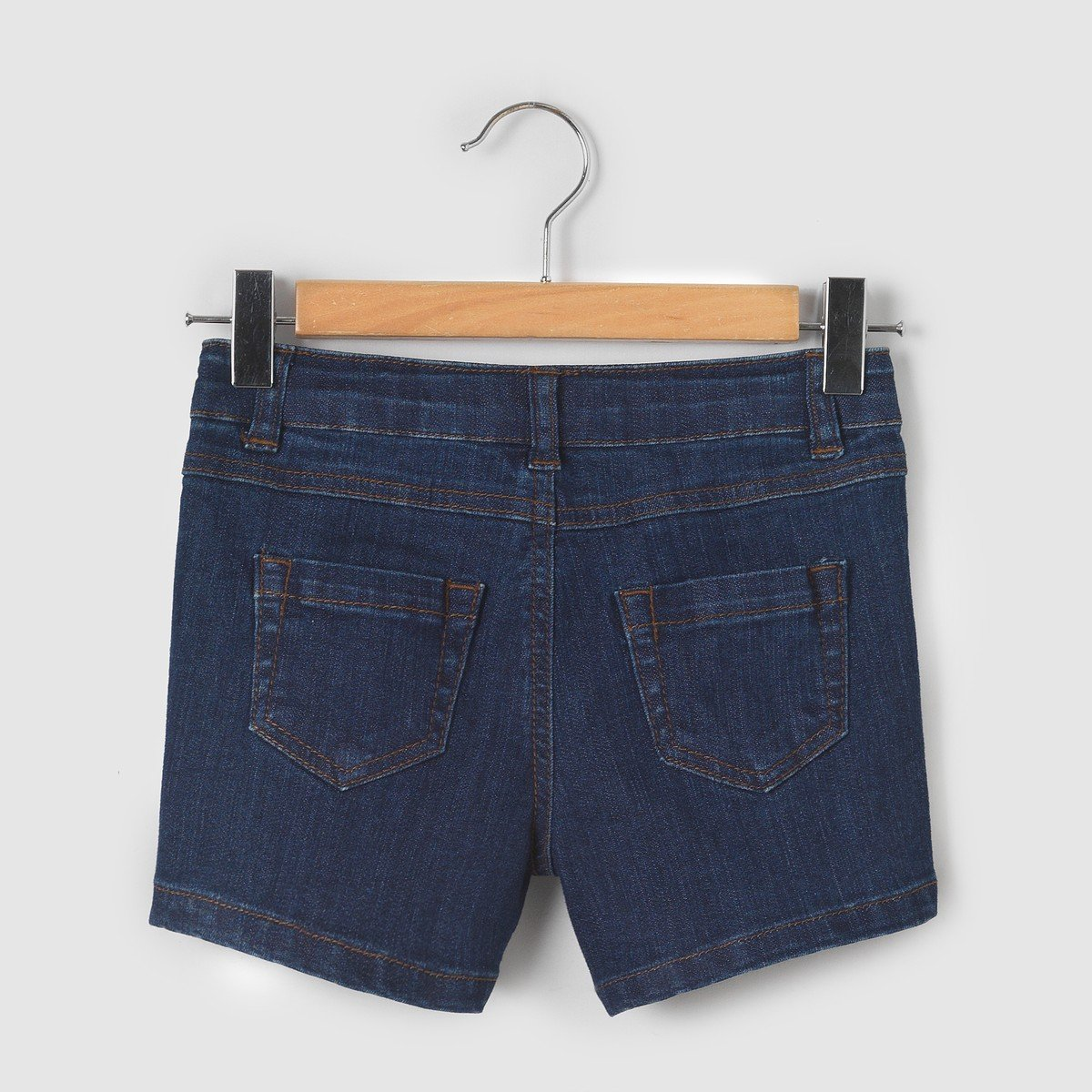 3-12 Years La Redoute Collections Big Girls Denim 5 Pocket Shorts