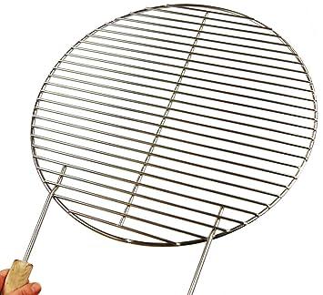 Parrilla de cocción de acero inoxidable para barbacoa de la caldera 54 55 56 57 Weber
