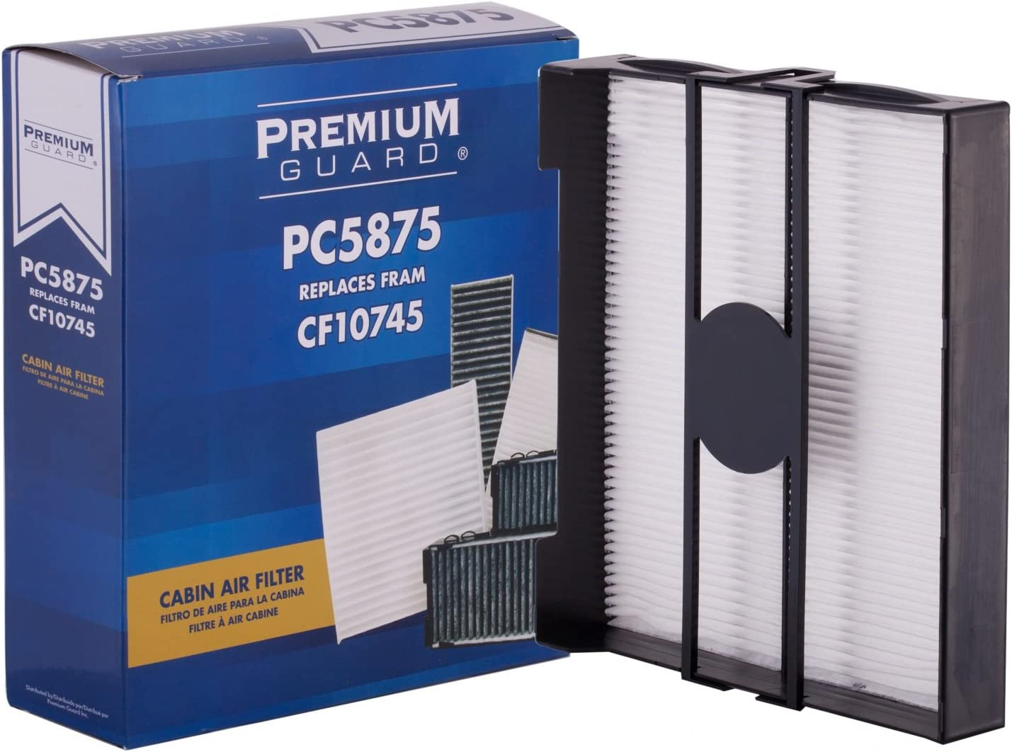 CF10745 POTAUTO MAP 1054W High Performance Car Cabin Air Filter Replacement for SUBARU Forester