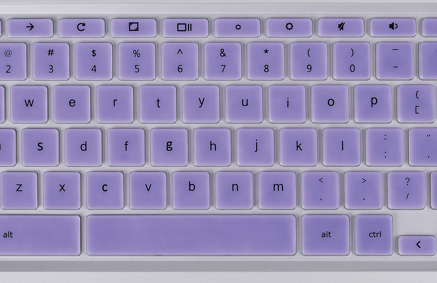 Keyboard Silicone Protector Skin Cover For 14 Inch Hp Chromebook Laptop Semi Violet Chromebook14 Purple Skins Electronics Tibs