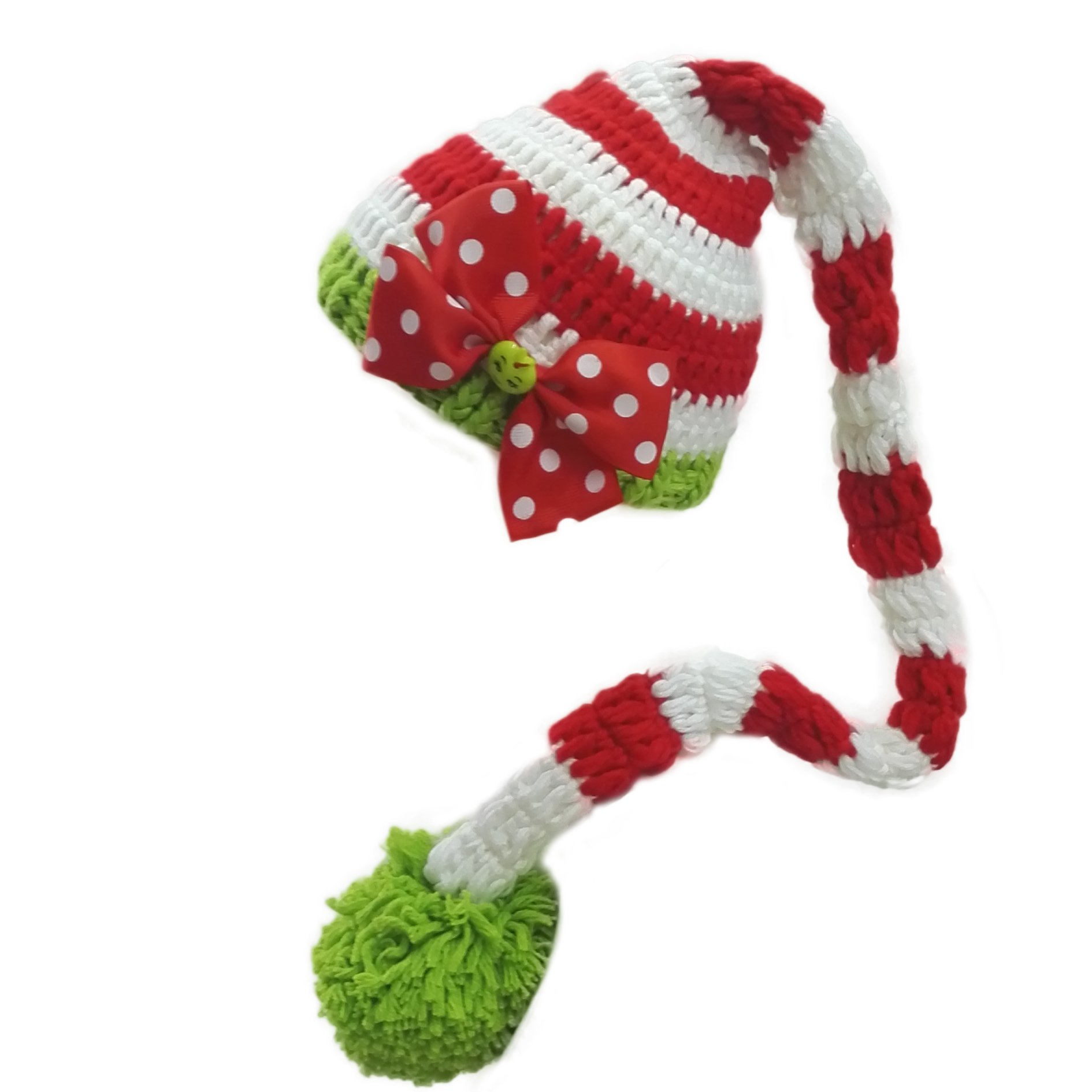 Rhumen Baby Photography Prop Christmas Baby Newborn Handmade Clothes by Rhumen (Image #1)