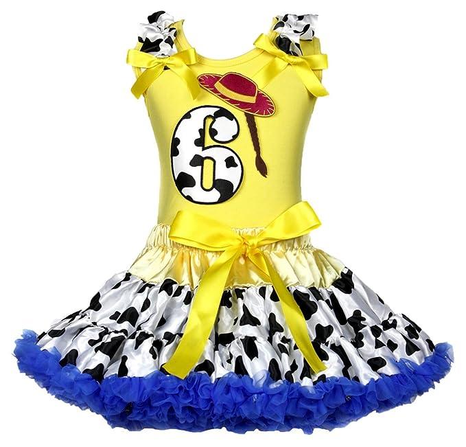 Amazon.com: Sombrero de vaquera 6th Cumpleaños Amarillo ...