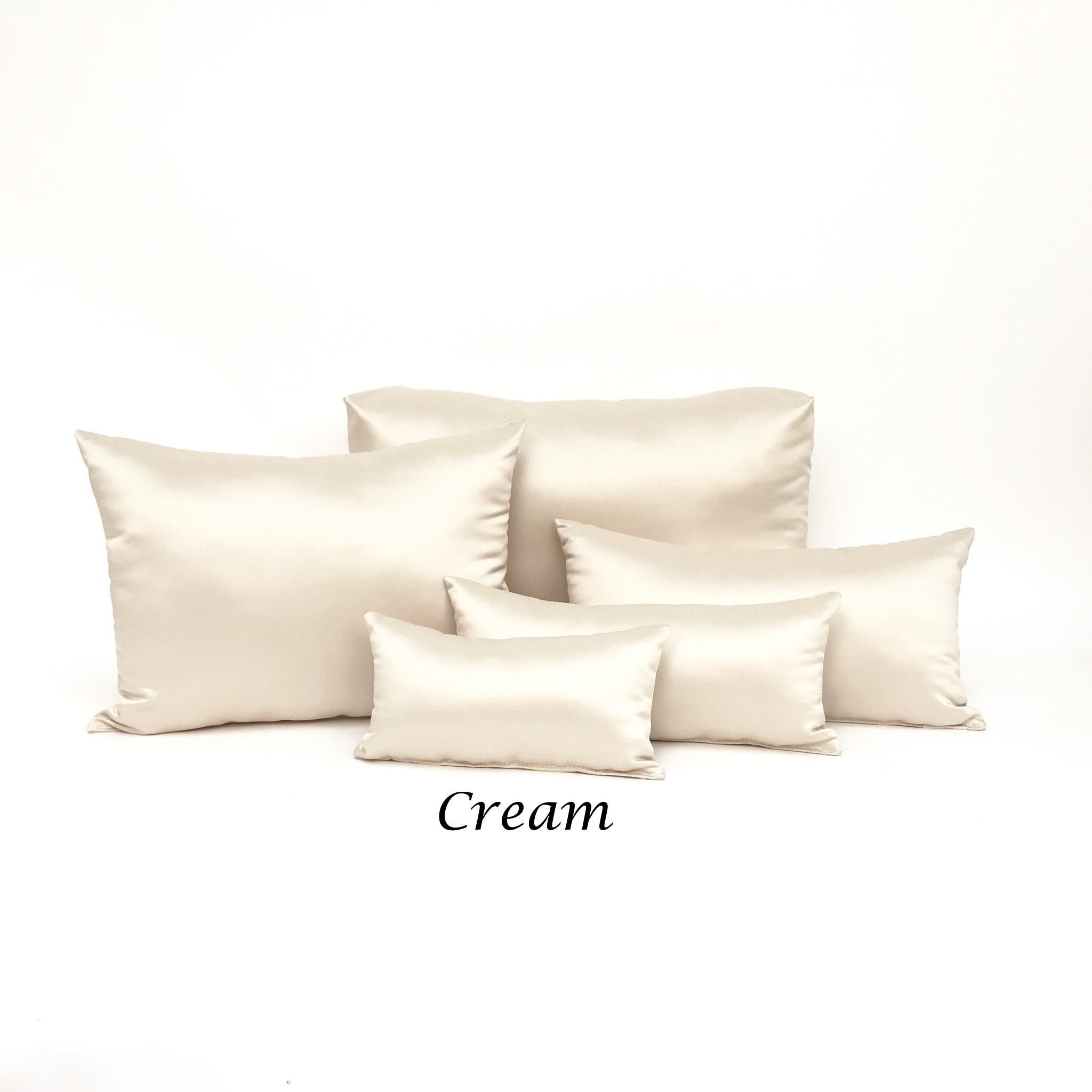 Individual Purse Pillows MADE to ORDER : Luxury Standard Cream Purse Inserts & Boot Stuffers, Unlimited Quantities Inserts for Boutique Designer Purse Protection PB-502