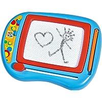 Simba 106334148 - Art & Fun klein tekenbord, 16x13 cm, meerkleurig, vanaf 3 jaar