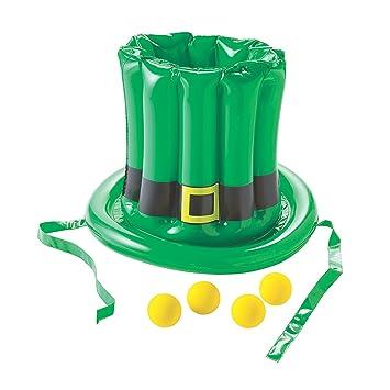 Amazon.com: Inflable St. Patrick S Day sombrero juego de ...