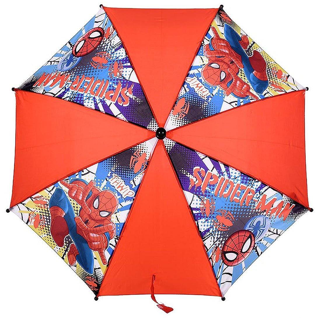 Parapluie enfant garç on Spider-man Rouge/noir diamè tre 65cm