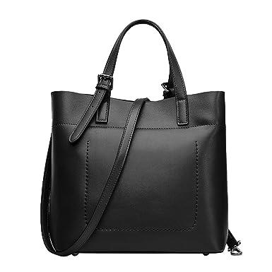 Umhängetasche Portable Umhängetasche Damen Tasche Umhängetasche,Black-OneSize BFMEI
