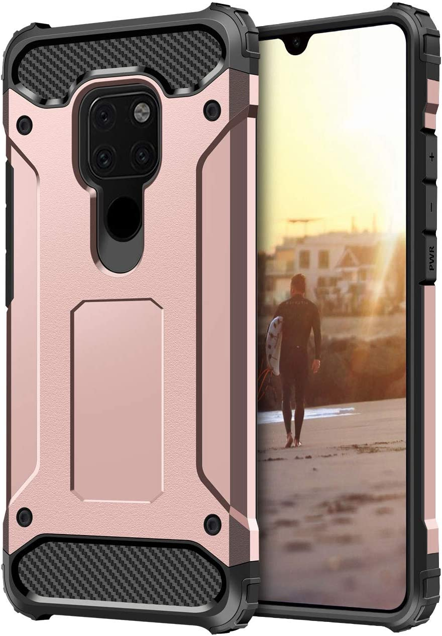Coolden Heavy Duty Robuste r/ésistant Double Couche Armure Coque pour Huawei Mate 20/Coque de Protection Protection Contre Les Chocs Defender Coque Rigide Antichoc Coque pour Huawei Mate 20