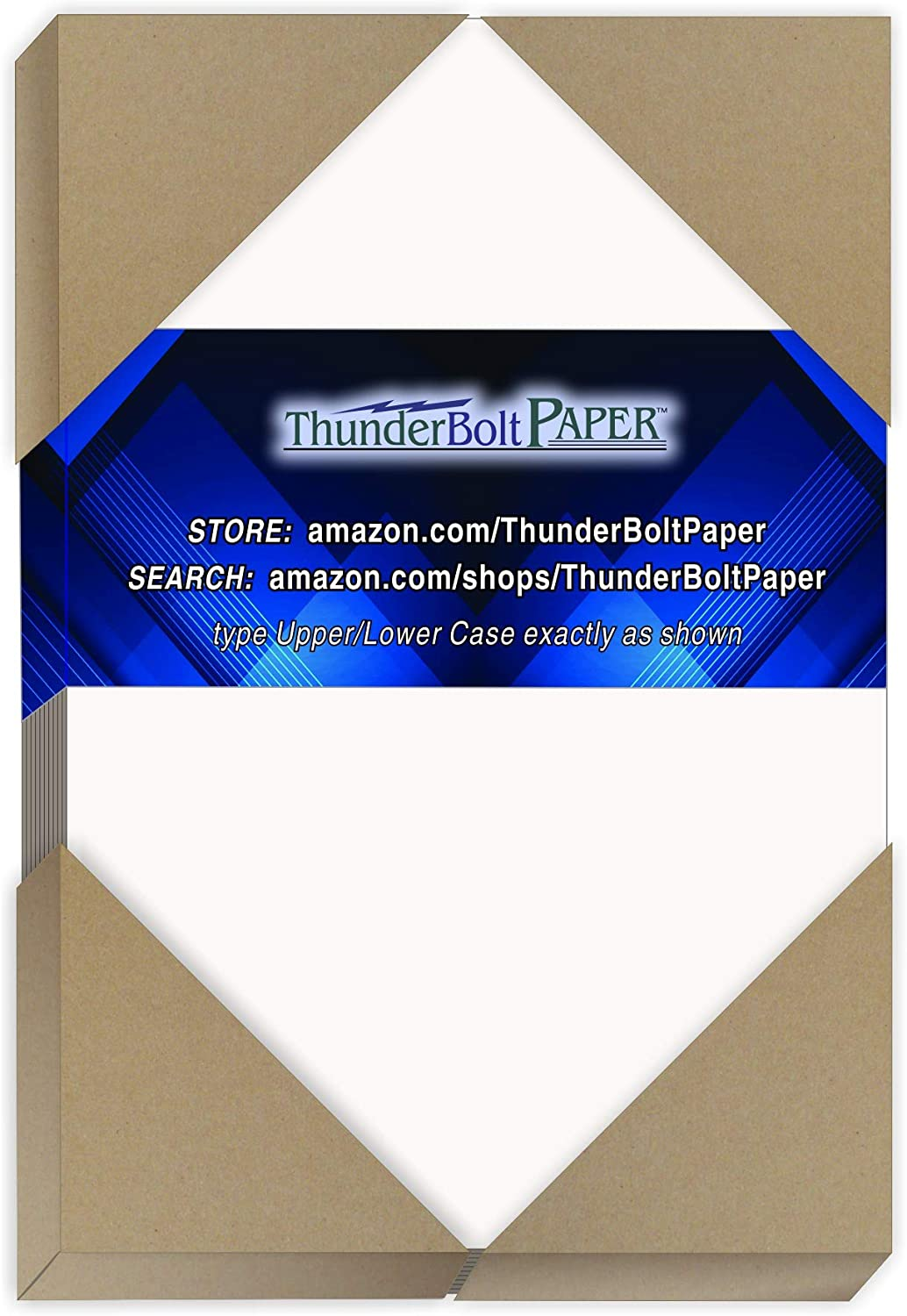 """300 Sheets Chipboard 24pt White 1 Side - 4"""" X 6"""" (4X6 Inches) Photo