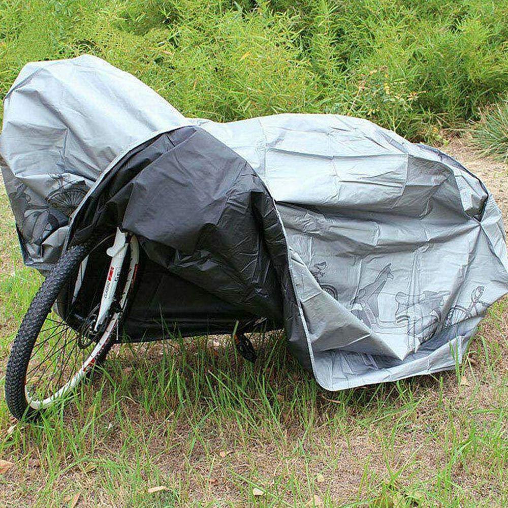 Couverture de Moto Anti-UV Anti-Vent de Sun Dust Couverture de v/élo Robuste pour Toutes Les Conditions m/ét/éorologiques pour Le v/élo de Route v/élo de Montagne lesgos Housse de Protection V/élo
