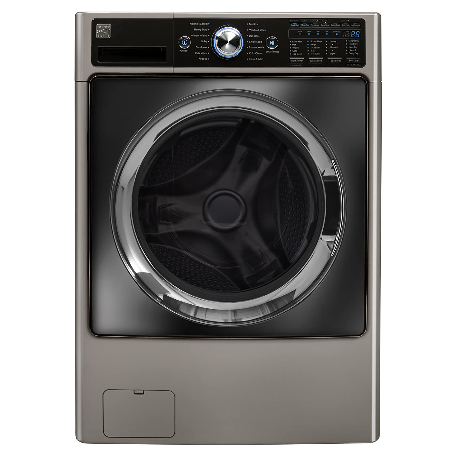 Kenmore Elite 41003 4.5 cu. ft. Front Load Combination Washer/Dryer in Silver, includes delivery and hookup