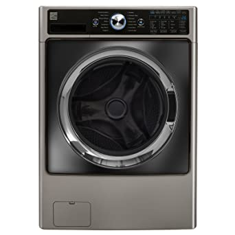 kenmore elite oasis washer and dryer. kenmore elite 4.5 cu. ft. front load combination washer/dryer in silver, oasis washer and dryer