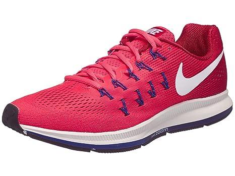 b276889fa2cc Nike Air Zoom Pegasus 33 Ember Glow Gym Red Loyal Blue White Men s Running  Shoes  Amazon.ca  generic