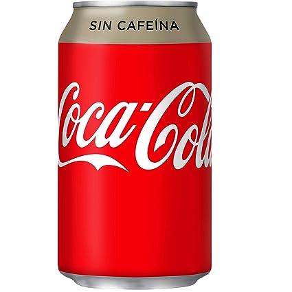 Coca-Cola - Zero, Refresco con gas de cola, 330 ml, Lata