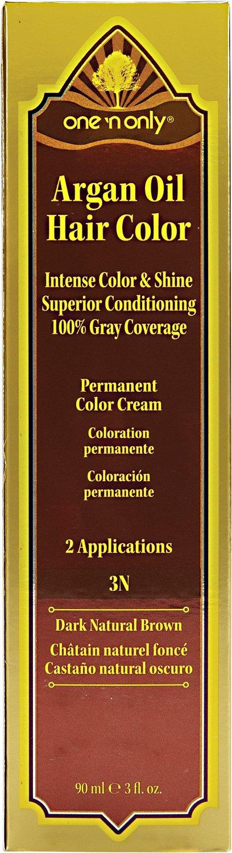 Amazon One N Only 2n Black Permanent Hair Color Cream 2n