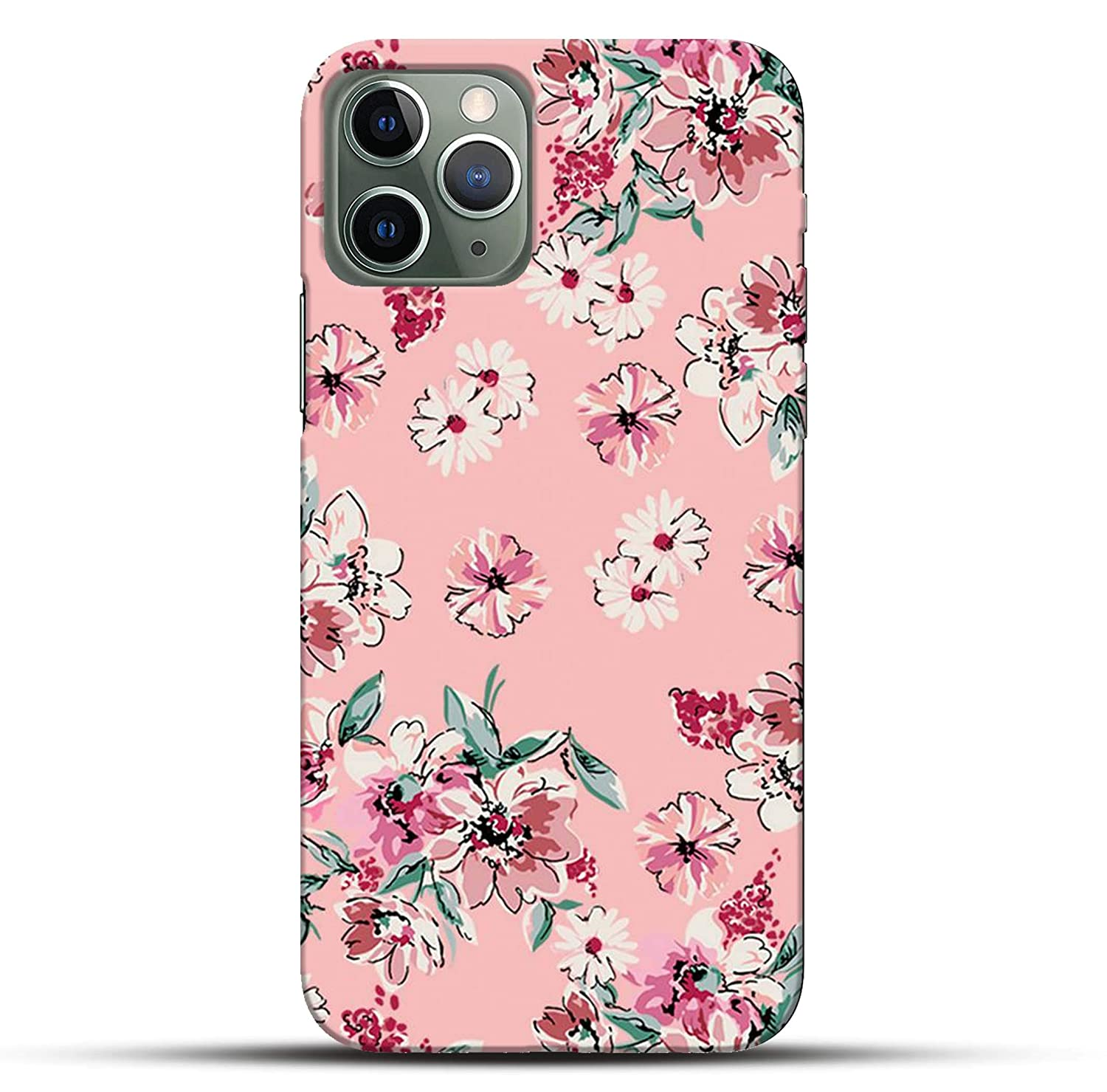 Outlouders Funky Floral Flower Pink Girly Background Amazon In Electronics