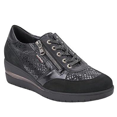 beb8d3435f0 Mobils Womens Patrizia Black Nubuck Shoes 5 UK: Amazon.co.uk: Shoes ...