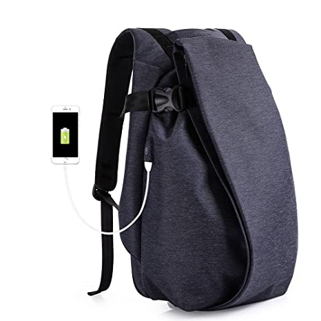 Bolsa de hombro de los hombres de moda recargable mochila impermeable personalizada bolso de escuela de ...