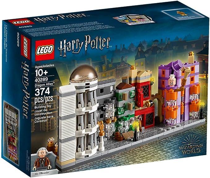 Lego Harry Potter Diagon Alley Micro Build 40289 374 Pcs Building Sets Amazon Canada