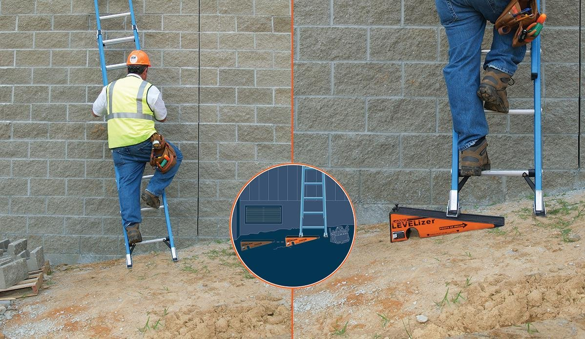 The Levelizer: Fast, Safe, & Easy Ladder Leveling by Advance Inventions LLC (Image #3)